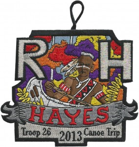 Pillars of Troop 26 - Rick Hayes Patch