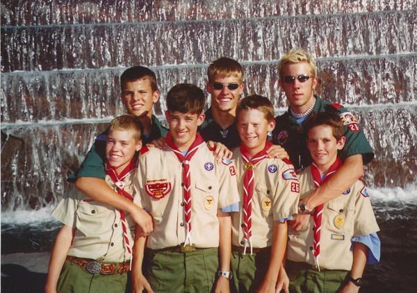 Jamboree 2001 - FDR Memorial
